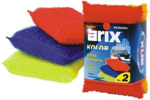 Arix Drátěnka pro jemné čištění 2 kusy Houbičky a hadry
