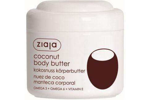 Ziaja Kokos tělové máslo 200 ml Tělová mléka