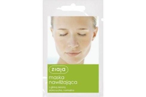 Ziaja Zelený jíl hydratační pleťová maska suchá a normální pleť 7 ml Pleťové masky