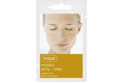 Ziaja Žlutý jíl antistresová pleťová maska pro všechny typy pleti 7 ml Pleťové masky