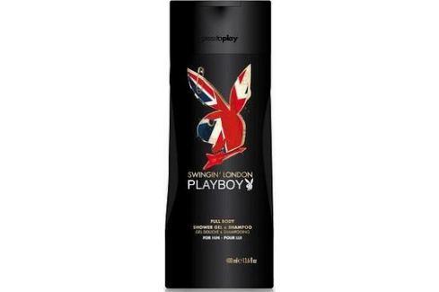 Playboy London Swingin 2v1 sprchový gel a šampon pro muže 250 ml Sprchové gely