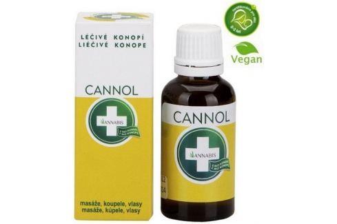 Annabis Cannol konopný olej masáže, koupele, vlasy 30 ml Masážní přípravky