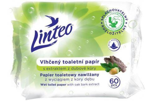 Linteo Satin vlhčený toaletní papír s dubovou kůrou 60 kusů Toaletní papír