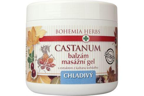 Bohemia Gifts & Cosmetics Castanum Extrakt z kaštanu koňského chladivý masážní gel 600 ml Masážní přípravky