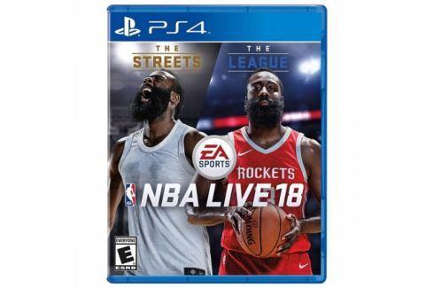 EA NBA LIVE 18 (5035225116880) Hry pro Playstation 4