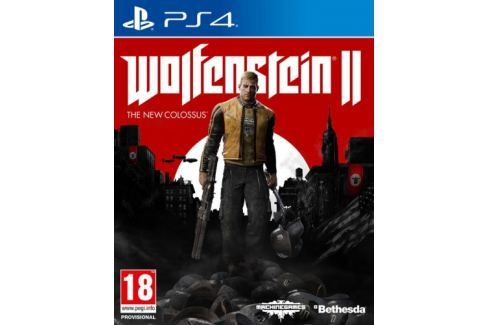 Bethesda PlayStation 4 Wolfenstein II The New Colossus (5055856416784) Hry pro Playstation 4