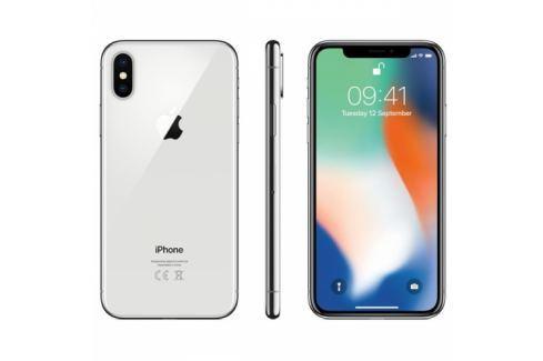 Apple iPhone X 256 GB - Silver (MQAG2CN/A) Mobilní telefony