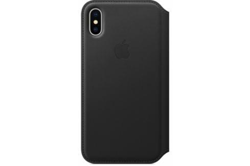 Apple Leather Folio na iPhone X (MQRV2ZM/A) Pouzdra na mobilní telefony