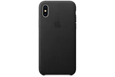 Apple Leather Case pro iPhone X (MQTD2ZM/A) Pouzdra na mobilní telefony
