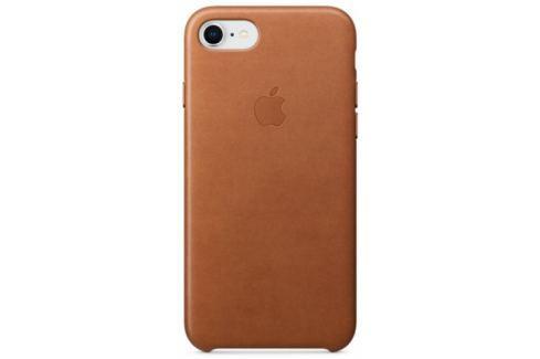 Apple Leather Case pro iPhone 8/7 - sedlově hnědý (MQH72ZM/A) Pouzdra na mobilní telefony