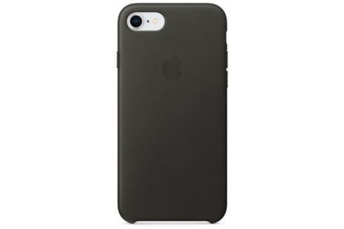 Apple Leather Case pro iPhone 8/7 - uhlově šedý (MQHC2ZM/A) Pouzdra na mobilní telefony