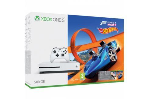 Microsoft 500 GB Forza Horizon 3 + rozšíření Forza Horizon 3 Hot Wheels + 14 denní Xbox LIVE GOLD (ZQ9-00211) XBOX