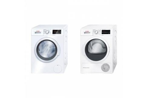 Bosch WAT24360BY + WTW87467CS Sety pračka+sušička