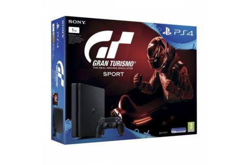 Sony SLIM 1TB + Gran Turismo Sport + PS Plus 14 dní (PS719907268) PlayStation