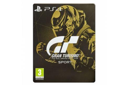 Sony Gran Turismo Sport + Digitální bonusový balíček + zlatá SteelBook krabička (PS719831051) Hry pro Playstation 4