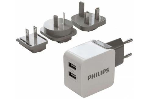 Philips 2x USB, 3,1A (DLP2220/10) Nabíječky pro mobilní telefony - neoriginální